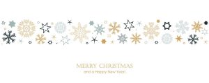 christmas card with snowflake border vector illustration EPS10
