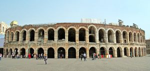 Arena of Verona in Italy.