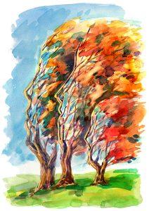 human trees