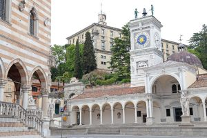 The ancient place of Freedom in Udine, Italy